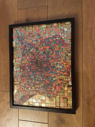 """""""Série RT papier n°6"""", déc 2017, 40x30cm, VENDU"""